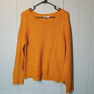 Roxy mustard sweater